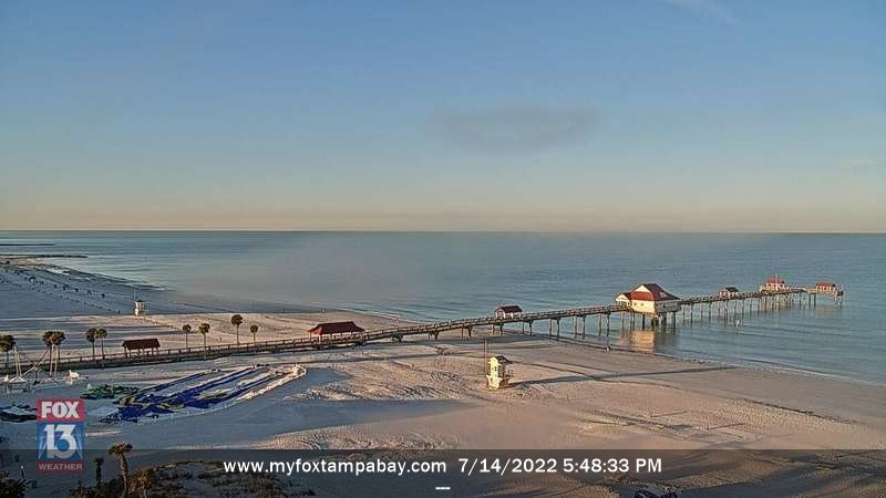 Clearwater Beach Webcam